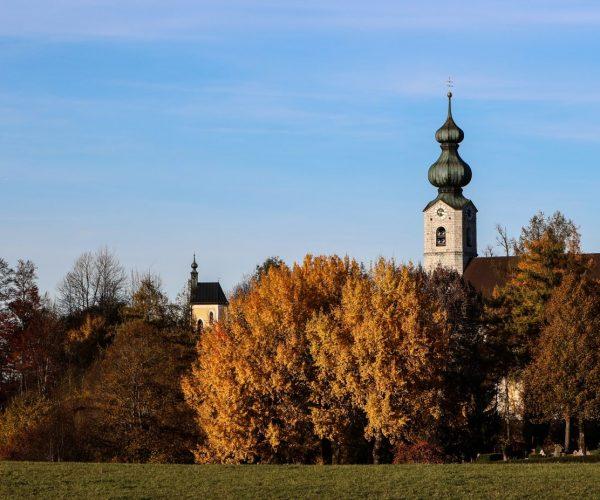 St Georg im Herbst